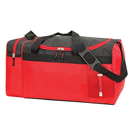 Shugon-Sacca da sport/viaggio-33L-bastoni 2450-Rosso-SPORTS BAG dimensioni adpatée casellari/, motivo: guardaroba