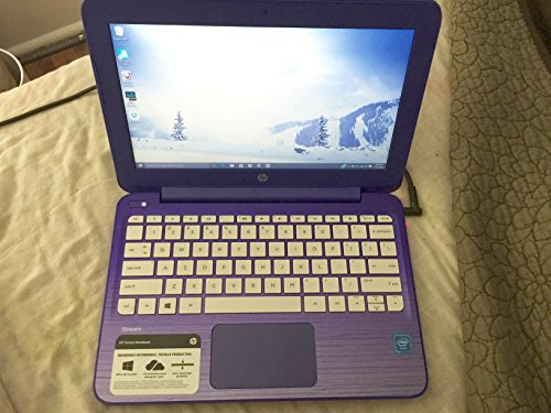 Picture of a Blue HP Stream 11 Notebook 889894638656