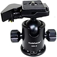 koolehaoda KM-0 aluminum camera tripod ball head with quick release plate