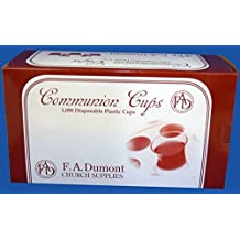 Disposable Communion Cups - Box of 1000