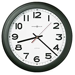 Howard Miller - Norcross Auto Daylight-Savings Wall Clock 12-1/4 Black 1 Aa Product Category: Office Furniture/Clocks