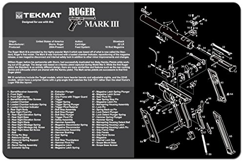 - TekMat Cleaning Mat for use with Ruger Mark III