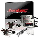 2010 camaro hid kit - Xentec HID Kit H13 (9008) 8000K Hi/Lo with 45W Error Free Slim CANBUS Ballast (Light Blue, high beam halogen)