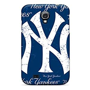 Samsung Galaxy S4 Upq17987Wrkc Unique Design High Resolution New York Yankees Pattern Excellent Hard Phone Cover -Marycase88