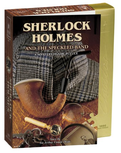Sherlock Holmes and The Speckled Band Mystery Jigsaw Puzzle (1000 Pieces) ()