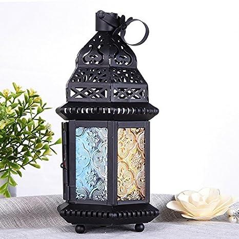Buy 1pcs Retro Gifts Decor Moroccan Style Matte Black Cast Iron
