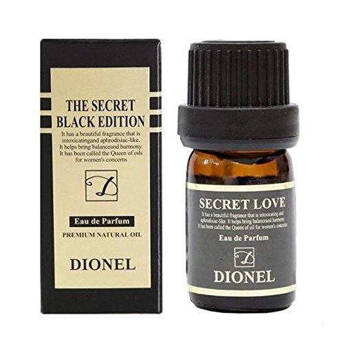 DIONEL Secret Love Black Edition Eau de Parfum 5ml Premium Natural Oil Feminine Hygiene Perfume Cleanser
