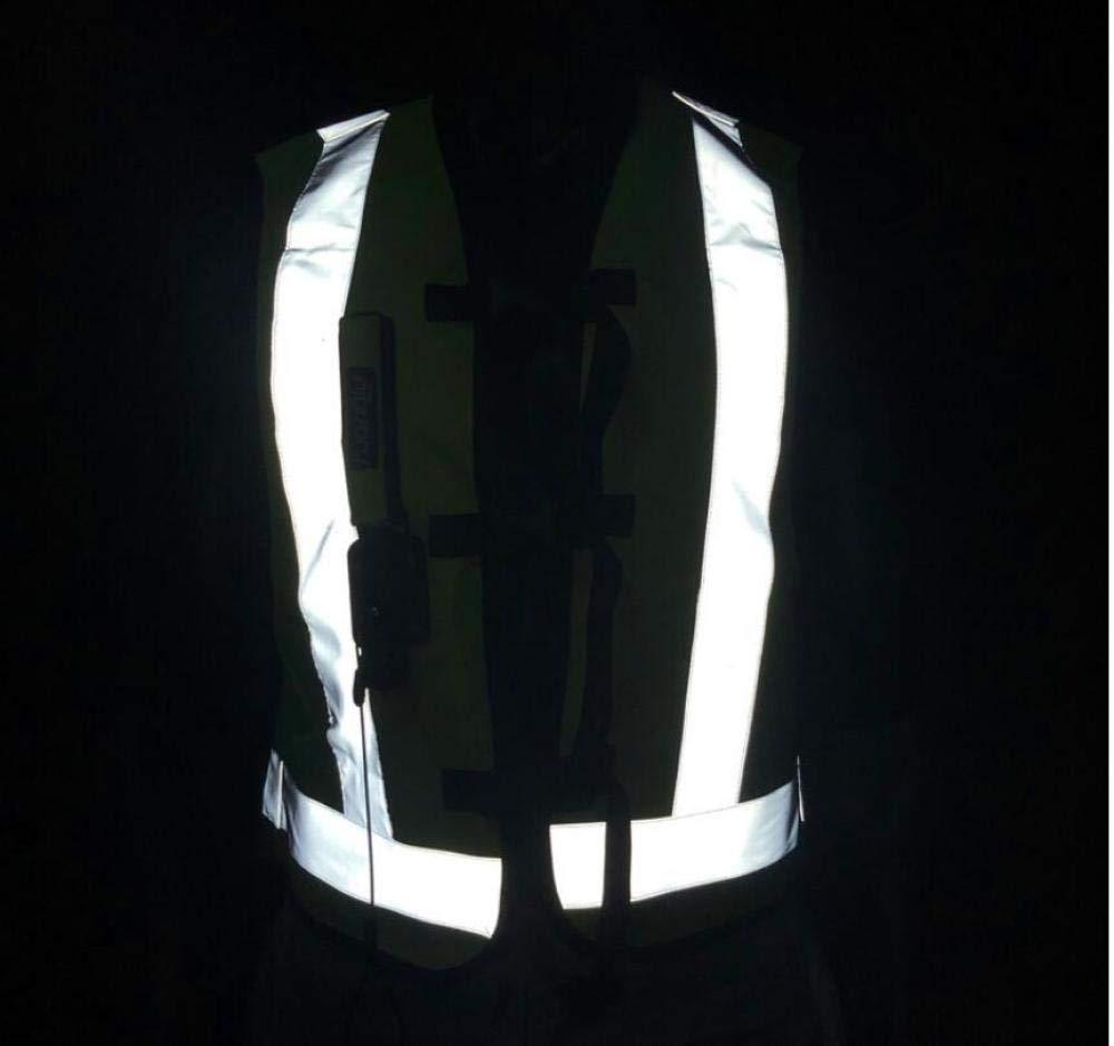 ALZHP Chaqueta De La Camisa del Protector del Motocross Chaleco del Saco Hinchable De La Motocicleta Protecci/ón Trasera Calle Profesional,M