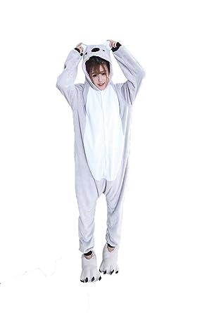 Cliont Koala Animal de los Pijamas de la Ropa de Noche ...