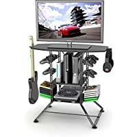 This Home Entertainment Center Is Set up to Be the Perfect TV and Gaming Station Stand with Plenty of Room for Your Game System