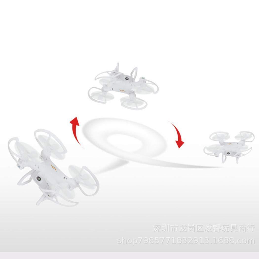 Sisaki Telecomando giroscopico a modalit/à Headless 2.4Ghz con Mini Drone Quadcopter a LED