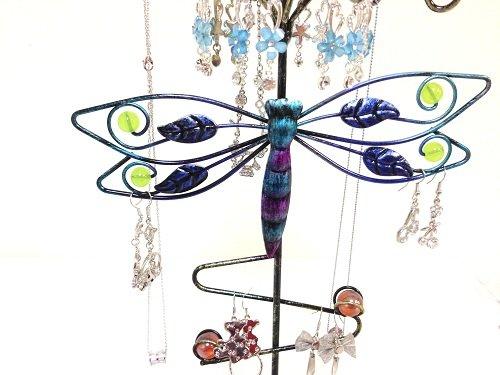 Bejeweled DisplayOwl Shape Earring Tree~Bracelet ~Necklace Organizer Combo Jewelry Display