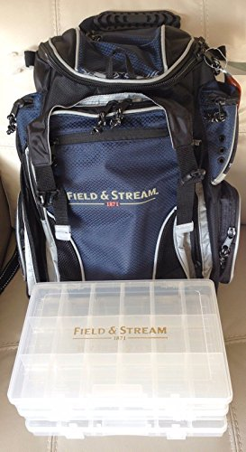 Field Stream Angler Backpack With 3 3600 Size