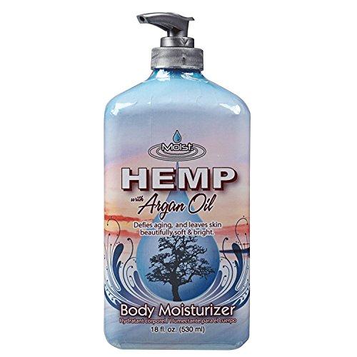 Moist Hemp Argan Oil Body Moisturizer