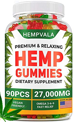 Premium-Gummies-27000-MG-Oil-Infused-90-Gummy-Bears-Sleep-Anxiety-Memory-Mood-Support-Made-in-The-USA