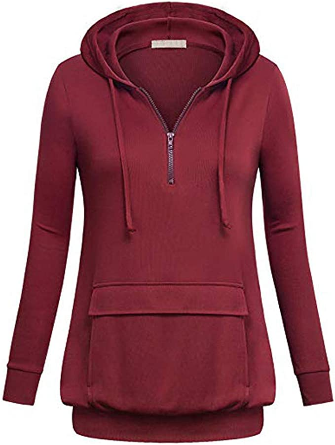 Misaky Women's Hoodies Fashion Casual Sweatshirt Patchwork Ladies Hooded Blouse Pullove