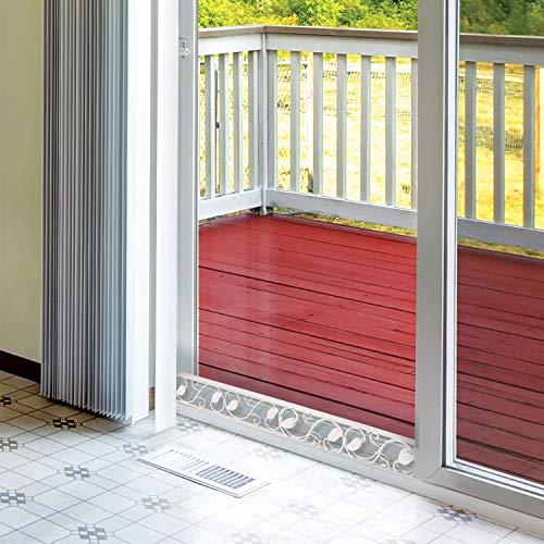 (Sliding Door Security Bar | Keep Door Closed for Maximum Security | Sliding Door Lock Bar | Ideal Door Jam & Window Stopper | Sliding Glass Door Security Bar | Easy to Install | Adjustable Size)