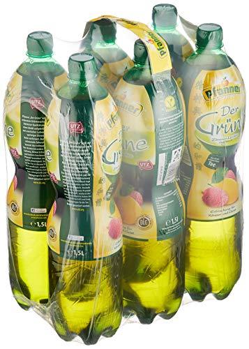 Pfanner 녹색 레몬 열매, 6 팩 (6 x 1.5 l)의