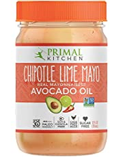 Primal Kitchen Avocado Oil Mayonnaise Chipotle Lime, 12 Ounce (355 ML), Paleo, Whole30
