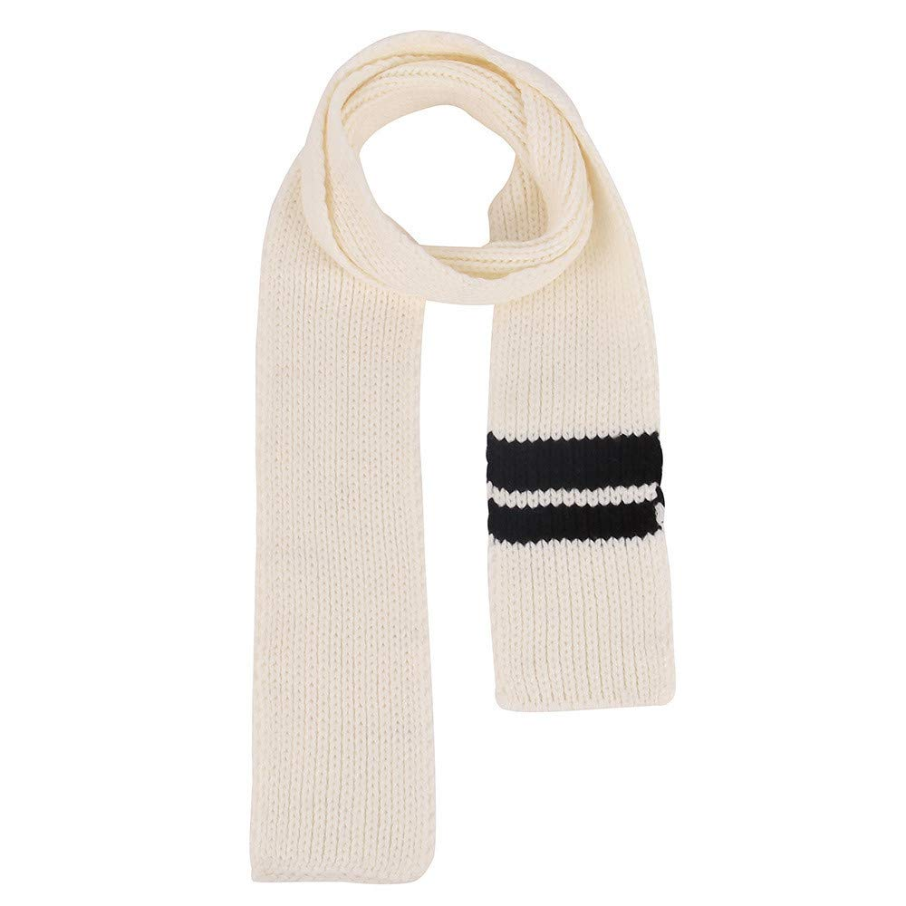 Amazon.com  Allywit Knitting Shawl Contrast Stripes Rectangle Scarf  Scarves  Clothing 5faef1659614