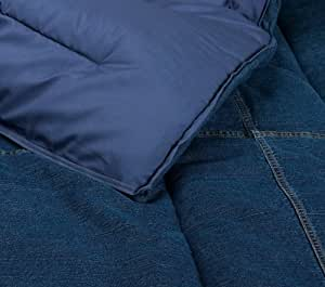 Tommy Hilfiger Comforter, All American Denim Collection, Full/Queen(Old Pattern)