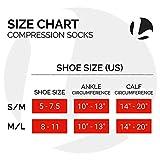 Plain Jane Wide Calf Compression Socks - Graduated