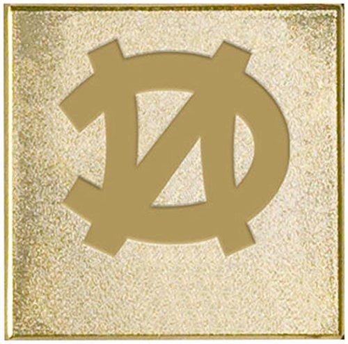 (FANMATS NCAA UNC University of North Carolina - Chapel Hill Tar Heels Metal-Alloy 2-Pack FanBrands)