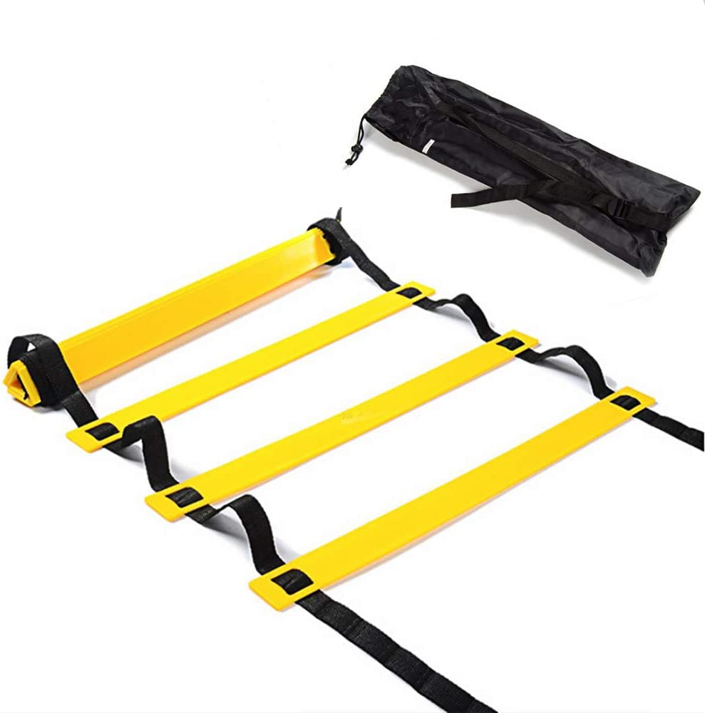 Details about  /Agility Ladder Speed Training Equipment Includes 12 Rung Agility Ladder,Running