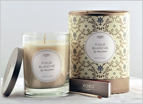 Kobo Candles Kobo Soy Candle, Figue Blanche ()