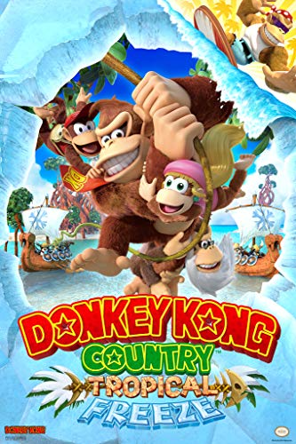 Pyramid America Donkey Kong Country Tropical Freeze Nintendo Cool Wall Decor Art Print Poster 12x18