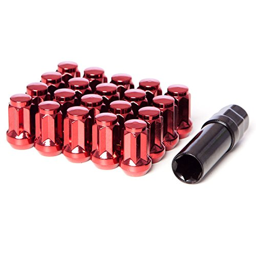 Red Tuner Lugs Nuts - 7