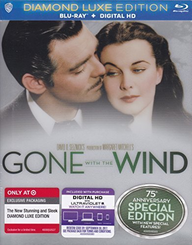 75th Anniversary Limited Edition - Gone with the Wind: 75th Anniversary (SPECIAL EDITION) [DIAMOND LUXE EDITION] (BLU-RAY + DIGITAL HD) by N/A