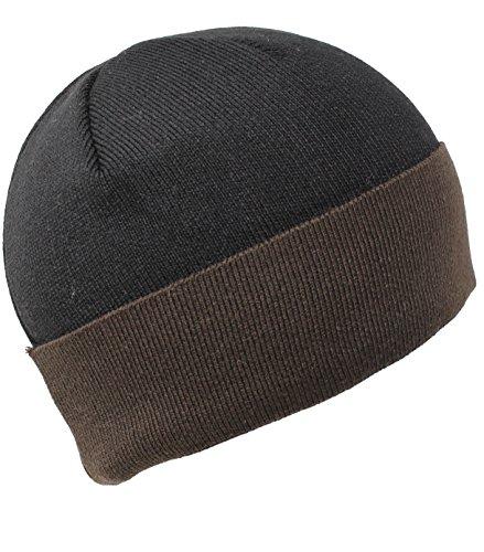 brown Black hombre punto DeresinaHeadwear Gorro de para 1TzqYz