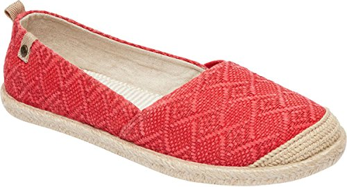 roxy-womens-flamenco-slip-on-shoes-size-10-bm-us-color-red-tone