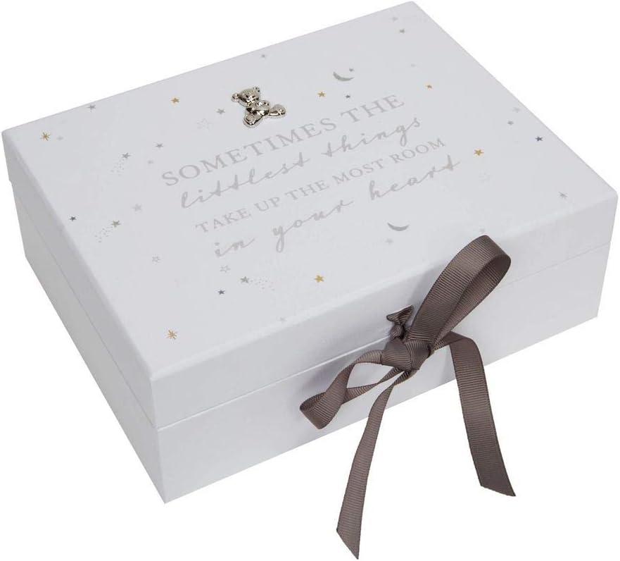 The Gift Experience Bambino Baby Keepsake Box with Drawers