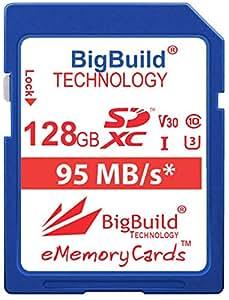 BigBuild Technology UHS-I U3 - Tarjeta de Memoria para Nikon ...