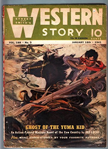 WILD WEST WEEKLY 1/18/1941-WESTERN PULP-YUMA KID - Kids Yuma