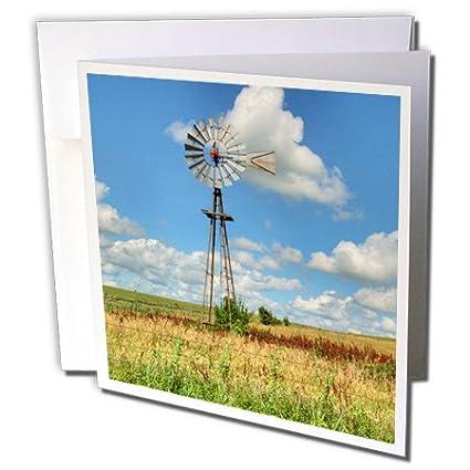 3dRose gc_191579_2 Usa/Kansas - Tarjeta de felicitación, 15 ...