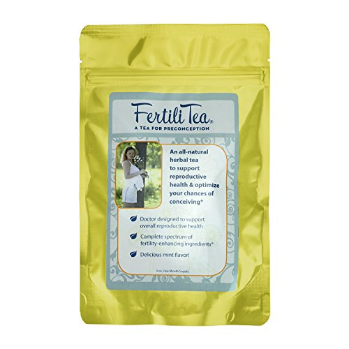 Chaste Berry Tea - FertiliTea: Organic Fertility Tea, 60 Servings, Contains Vitex