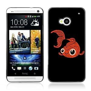 Designer Depo Hard Protection Case for HTC One M7 / GoldFish