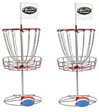 2) InSTEP Outdoor Disc Golf Goals & 6 Free Discs DG200 by InStep