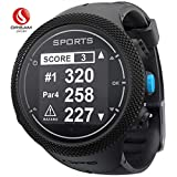 DREAM SPORT GPS Golf Watch Course Rangefinder Measure Shot and Recording Score DGF301 (Black)
