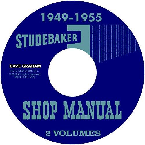 - 1949 1950 1951 1952 1953 1954 1955 STUDEBAKER TRUCKS & PICKUPS REPAIR SHOP & SERVICE MANUAL CD - Includes All 2R, 32R, E, and 2E Series