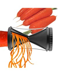 Acquisition 1 X Easy Julienne - Kitchens Best Gadget - Vegetable Spiral Slicer - Spiralizer of Zucchini, Carrots & More -... saleoff