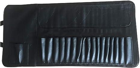 Bolsa enrollable para brochas de maquillaje, maquillaje profesional, corrector de contorno, organizador de brochas, estuche para maquillaje, bolsa de almacenamiento: Amazon.es: Juguetes y juegos