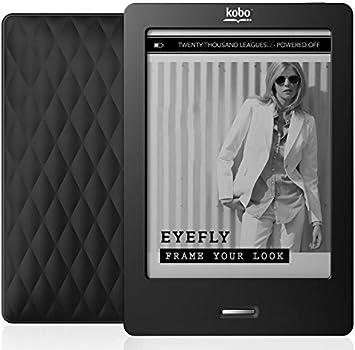IDLB mejor!! pantalla táctil de infrarrojos e-libro lector de tinta electrónica Kobo Touch N905 N905B PDF eBook Reader 6 pulgadas WiFi 2GB ereader libro electrónico: Amazon.es: Electrónica