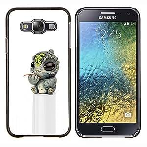 Stuss Case / Funda Carcasa protectora - Baby Alien Toy Figurine 3D - Samsung Galaxy E5 E500