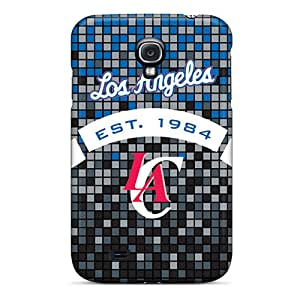 Hot GwZ85lzeO Case Cover Protector For Galaxy S4- Los Angeles Clippers