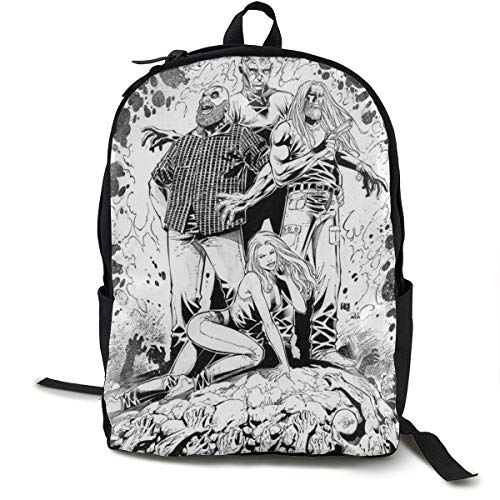 The Devils Rejects Backpack Campus School Bag Casual Backpack Gym Travel Hiking Canvas Backpack
