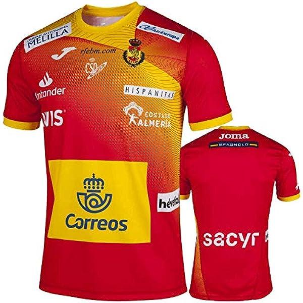 Camiseta Joma España Balonmano Masculino 2019 Roja - 6 años: Amazon.es: Deportes y aire libre